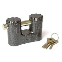 Схема.  Навесные замки.  Материал исполнения дужки сталь.